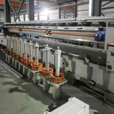 Polishing machine reconstruction site